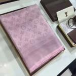 LV圍巾-28-2 路易威登潮流經典蔡依林同款銀絲提花羊毛加真絲方巾