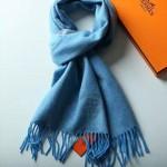 HERMES圍巾-32-03 愛馬仕專櫃時尚新款單紗18支紗雙面復合羊絨圍巾