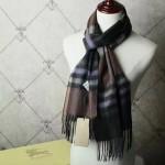 Lvaaa.tw-022-3 巴寶莉潮流經典男女通用格紋原單羊絨長款圍巾