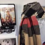Lvaaa.tw-圍巾032 巴寶莉人氣新款經典格紋系列厚款羊絨披肩圍巾