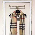 Lvaaa.tw-圍巾027-6 巴寶莉潮流英倫風金線格子山羊絨長款圍巾