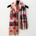 Lvaaa.tw-圍巾031-2 巴寶莉專櫃新款女士桃心羊絨長款圍巾