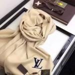 LV圍巾-37 路易威登潮流百搭新款純色水貂絨長款圍巾