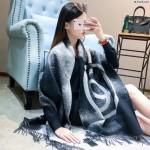 CHANEL圍巾-31 香奈兒潮流爆款流蘇雙面logo頂級羊絨圍巾