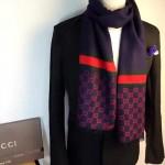GUCCI圍巾-45-01 古馳秋冬新款男士圍巾