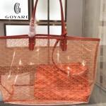 Goyard-14-04 戈雅潮流時尚百搭經典款透明購物袋果凍包