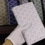 Goyard-017-9 潮流最新款男女通用兩折錢包護照夾