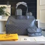Goyard-019-4 時尚新款女士純手工繪製大容量購物袋