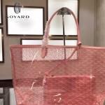 Goyard-14-09 戈雅潮流時尚百搭經典款透明購物袋果凍包