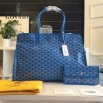 Goyard-019 時尚新款女士純手工繪製大容量購物袋