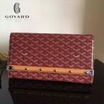 Goyard-15-03 戈雅潮流時尚新款木條系列手拿包