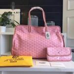 Goyard-019-3 時尚新款女士純手工繪製大容量購物袋