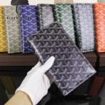 Goyard-017-6 潮流最新款男女通用兩折錢包護照夾