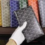 Goyard-017-4 潮流最新款男女通用兩折錢包護照夾