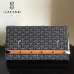 Goyard-15-01 戈雅潮流時尚新款木條系列手拿包