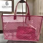 Goyard-14-011 戈雅潮流時尚百搭經典款透明購物袋果凍包