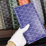 Goyard-017-3 潮流最新款男女通用兩折錢包護照夾