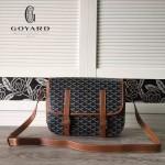 Goyard-16-03 戈雅潮流時尚新款搭配可調節肩帶男女式通用郵差包