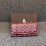 Goyard-018-11 歐美百搭新款多功能兩折錢包手包