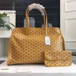 Goyard-019-11 時尚新款女士純手工繪製大容量購物袋