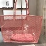Goyard-14-08 戈雅潮流時尚百搭經典款透明購物袋果凍包