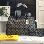 Goyard-019-6 時尚新款女士純手工繪製大容量購物袋