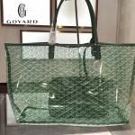 Goyard-14-07 戈雅潮流時尚百搭經典款透明購物袋果凍包