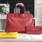 Goyard-019-9 時尚新款女士純手工繪製大容量購物袋
