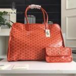 Goyard-019-10 時尚新款女士純手工繪製大容量購物袋