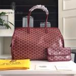 Goyard-019-5 時尚新款女士純手工繪製大容量購物袋