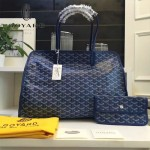 Goyard-019-7 時尚新款女士純手工繪製大容量購物袋