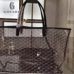 Goyard-14-015 戈雅潮流時尚百搭經典款透明購物袋果凍包