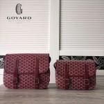 Goyard-16-02 戈雅潮流時尚新款搭配可調節肩帶男女式通用郵差包