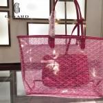 Goyard-14-010 戈雅潮流時尚百搭經典款透明購物袋果凍包