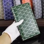Goyard-017-5 潮流最新款男女通用兩折錢包護照夾