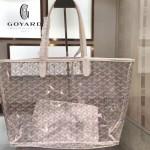 Goyard-14-012 戈雅潮流時尚百搭經典款透明購物袋果凍包
