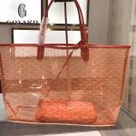 Goyard-14-05 戈雅潮流時尚百搭經典款透明購物袋果凍包