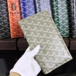 Goyard-017-2 潮流最新款男女通用兩折錢包護照夾