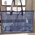 Goyard-14-01 戈雅潮流時尚百搭經典款透明購物袋果凍包