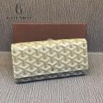 Goyard-018-8 歐美百搭新款多功能兩折錢包手包