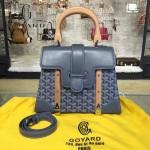 Goyard-026-7 潮流百搭新款腳釘五金小號手提單肩包定型包