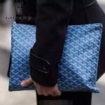 Goyard-07-14 時尚經典款可以私人塗鴉定制服務大號手拿包