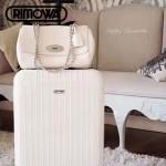 RIMOWA-02-3 德國日默瓦劉詩詩同款salsa air機場必備凹造型利器鋁製拉桿箱行李箱