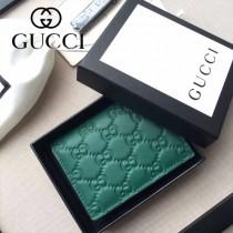 GUCCI 410088-04 人氣熱銷時尚新款全皮壓花零錢包卡片包