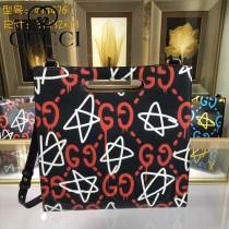 GUCCI 414476-02 專櫃時尚新款塗鴉系列小號手提肩背包