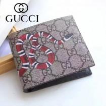 GUCCI 022 專櫃時尚新款2折動物圖案錢包短夾