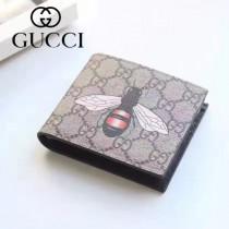 GUCCI 022-02 專櫃時尚新款2折動物圖案錢包短夾