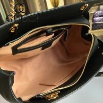 GUCCI 453773 專櫃時尚新款進口牛皮女士肩背包