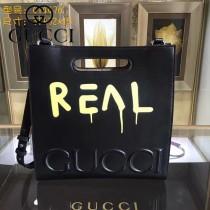 GUCCI 414476-06 專櫃時尚新款塗鴉系列小號手提肩背包