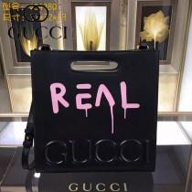 GUCCI 414476-03 專櫃時尚新款塗鴉系列小號手提肩背包